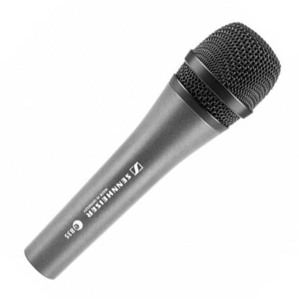 Professional microphone singing