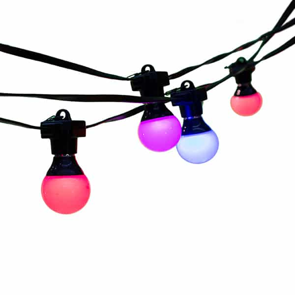 RGB Festoons for events