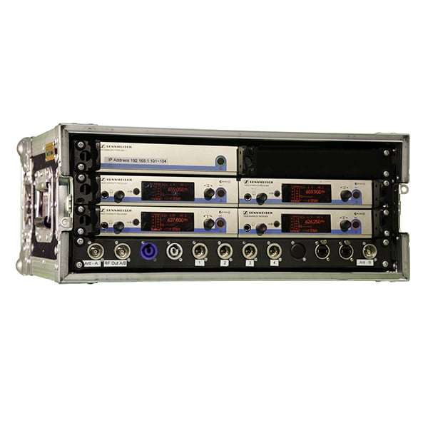 Radio Microphone Receiver Rack