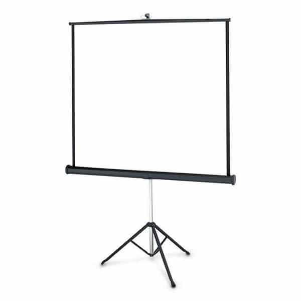 Pushup projection screens are great for meetings
