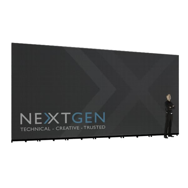 Perfect for Events that need a large LED Screen