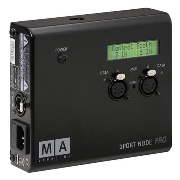 MA2 lighting node