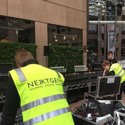 live event production services