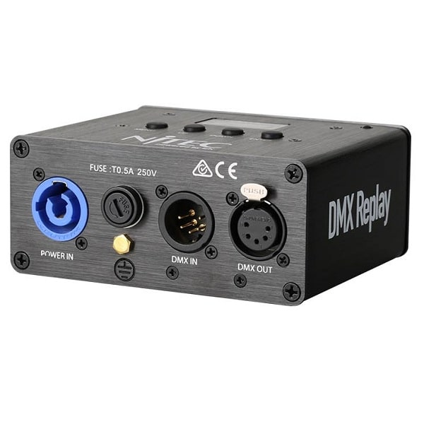DMX replay unit