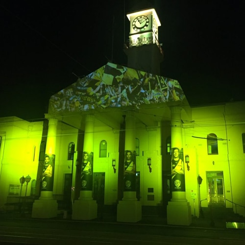 melbourne projection mapping companies.
