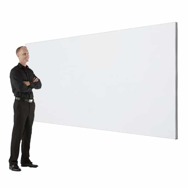 Small Seamless Projection Screen for Events